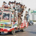 overload bus in karachi