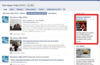 PTI fb campaign