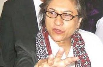 Asma Jahangir Lashes Out Hamid Khan