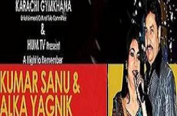 Kumar Sanu & Alka Yagnik Show On Hum TV