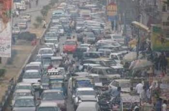 traffic problem in karachi