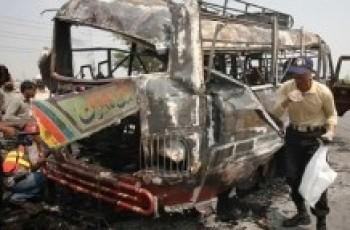 mustang bus attack