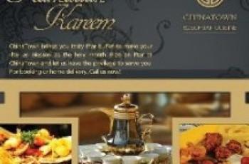ChinaTown Ramadan Iftar Buffet Deal 2012!