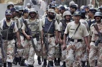 Rangers Opperation In Lyari