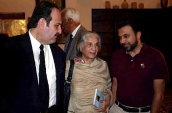 Allama Iqbal's daughter picture