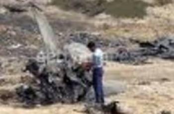 PAF jet crashed in bhakkar