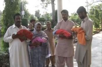 four babies birth in faisalabad