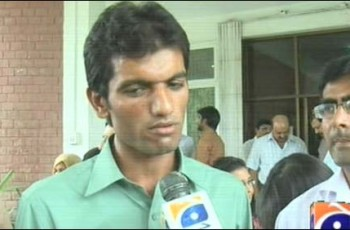 poor boy gets first position in PU exams