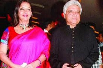 javed akhtar and Shabana Azmi Pakistan