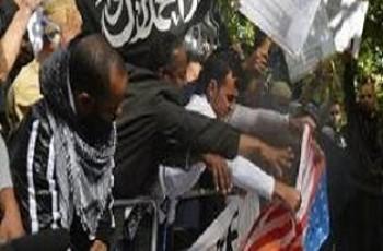 KU protest against Film
