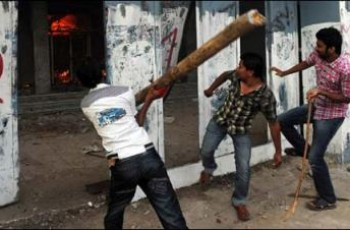 violence on friday karachi