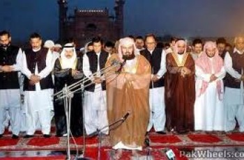 Imam-e-Kaaba in Pakistan