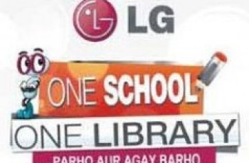 LG One School One Library show