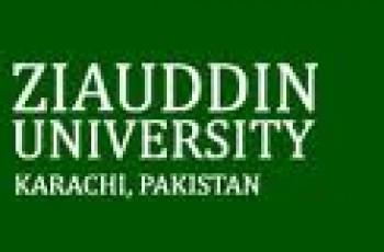 Ziauddin University ICMS Admissions 2012-13
