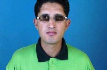 blind cricketer
