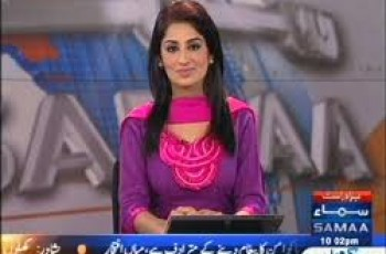 Newscaster Farah Yousuf