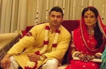 sadia imam with husband