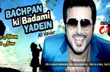 Ali Haider Music Album Cover