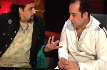 salman ahmed and Rahat Fateh ali khan