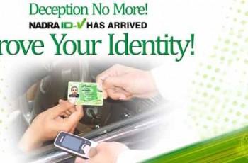 nadra-cnic-verification from sms promotion