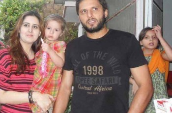 shahid afridi wife fake picture