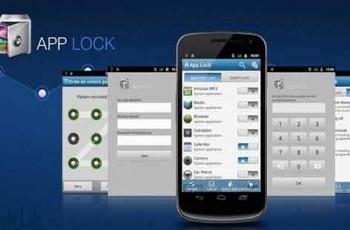 Android applock screenshot