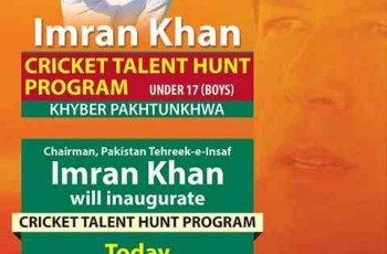 imran khan talent hunt