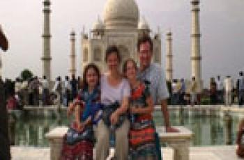 tourist in india