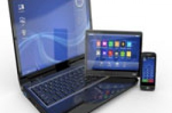 mobile laptop and tablet