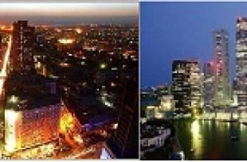 karachi and singapore