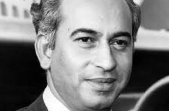 Late Zulfikar Ali Bhutto