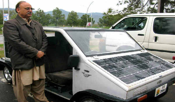 A Solar Car Made By The Islamabad S Citizen
