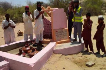Falah e Insaniat Foundation well in thar