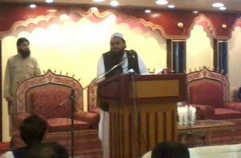 hafiz saeed during speech