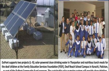 DuPont-projects in pakistan