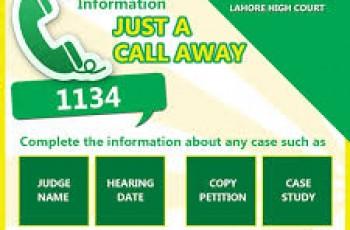 lahore court helpline