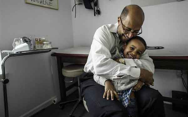 dr. michael & child