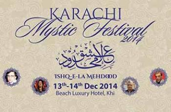 Karachi Mystic Festival Event Banner