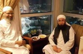 maulana tariq jameel and dr zakir naik photo