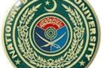 national defence university logo