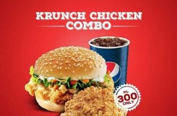 KFC Krunch Combo