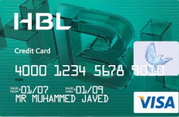 HBL Credit card image