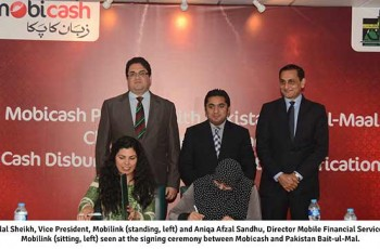 Mobicash & Baitulmal contract Signing deal