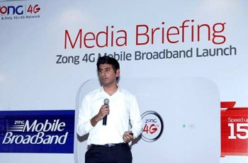 Usman Javed Manager 4G LTE Zong