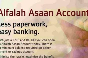 Alfalah Asaan Account