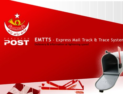 Pakistan Post (EMTTS) Online Tracking System Details