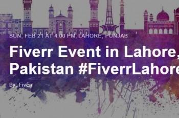 Fiverr Event Lahore