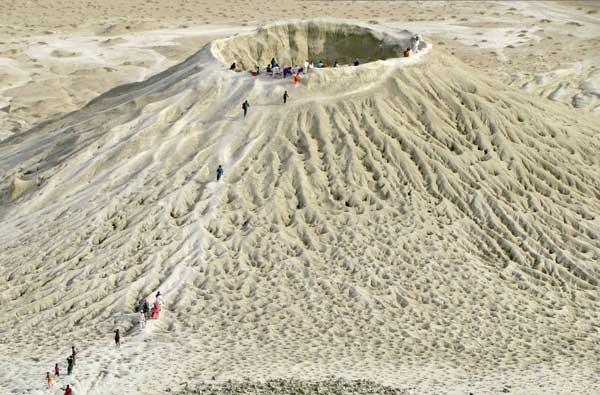 Mud volcano hingol national park