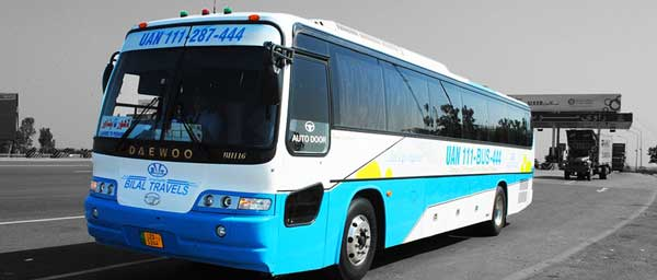 Bilal Travels (Bus Service) Start Online Ticket Booking