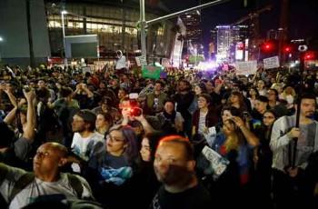 protestors in USA